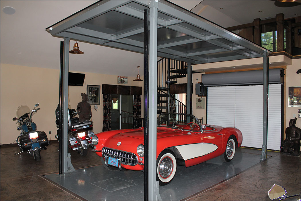 Car lifts phantompark for Car lift plans